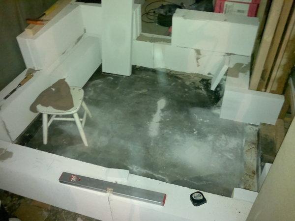 dusche mit ytong mauern alles ber wohndesign und m belideen. Black Bedroom Furniture Sets. Home Design Ideas